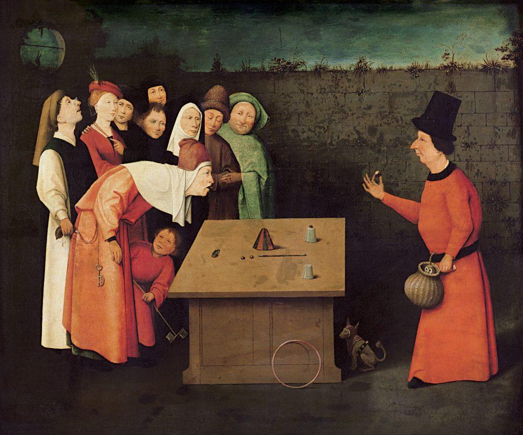 Der Gaukler - Hieronymus Bosch